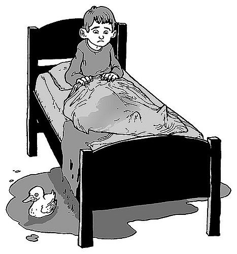 Ágybavizelés - lelki okai